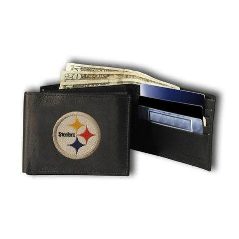 Pittsburgh Steelers NFL Embroidered Billfold Wallet