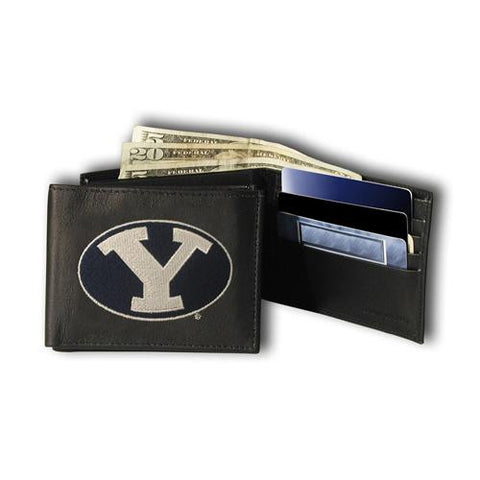 Brigham Young Cougars NCAA Embroidered Billfold Wallet