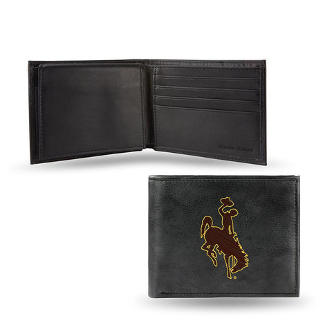 Wyoming Cowboys  Embroidered Billfold Wallet
