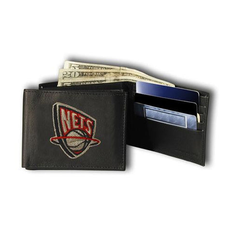 Brooklyn Nets NBA Embroidered Billfold Wallet