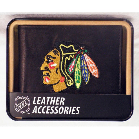 Chicago Blackhawks  Embroidered Billfold Wallet