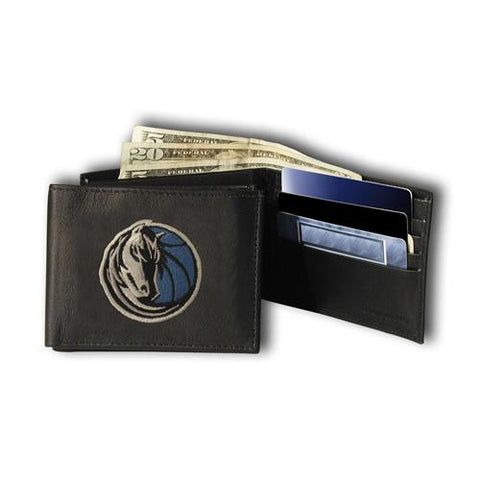 Dallas Mavericks NBA Embroidered Billfold Wallet