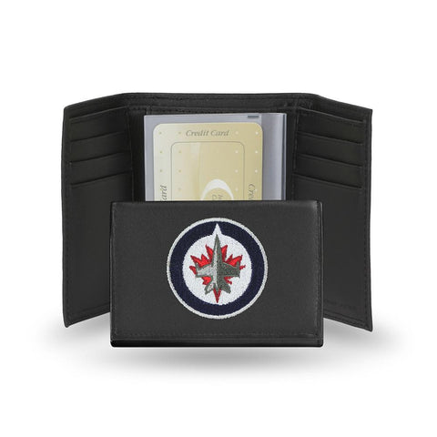 Winnipeg Jets  Embroidered Trifold Wallet