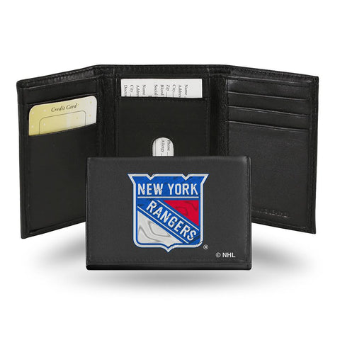 New York Rangers  Embroidered Trifold Wallet
