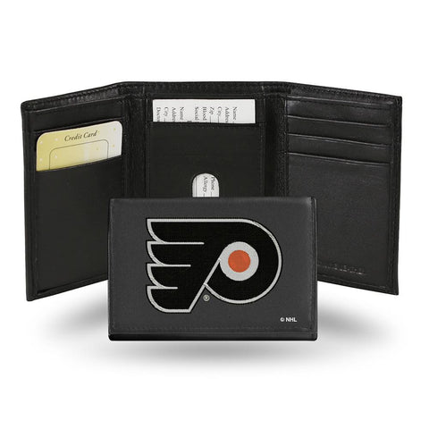 Philadelphia Flyers  Embroidered Trifold Wallet