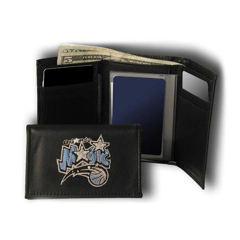 Orlando Magic NBA Embroidered Trifold Wallet