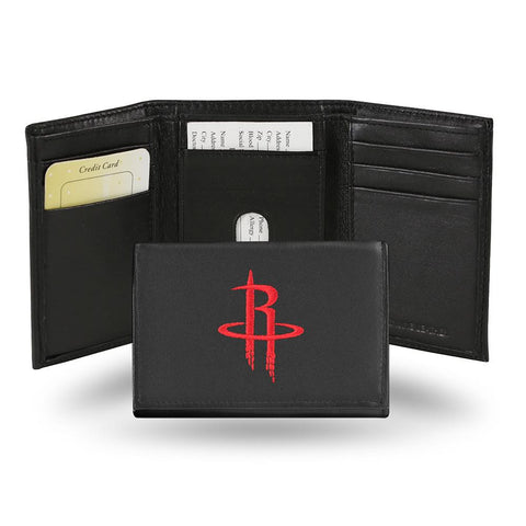 Houston Rockets  Embroidered Trifold Wallet