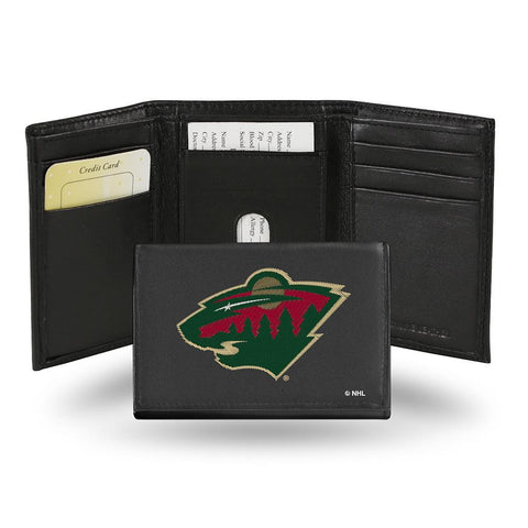 Minnesota Wild  Embroidered Trifold Wallet