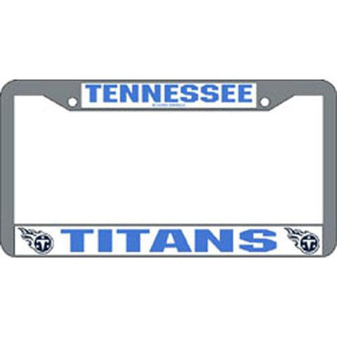 Tennessee Titans NFL Chrome License Plate Frame