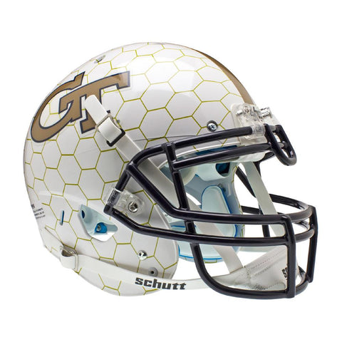 Georgia Tech Yellowjackets NCAA Authentic Air XP Full Size Helmet (Alternate Honeycomb 1)