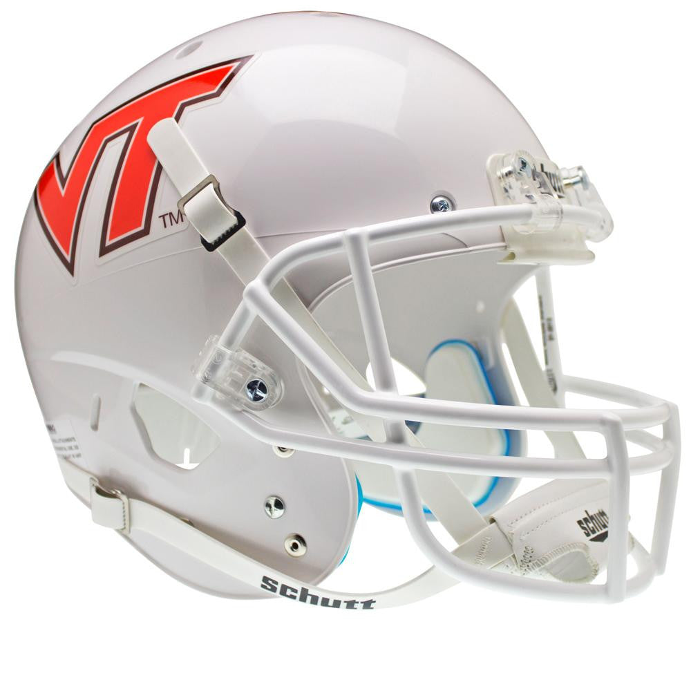 Virginia Tech Hokies NCAA Replica Air XP Full Size Helmet (Alternate White w- VT 7) - 2