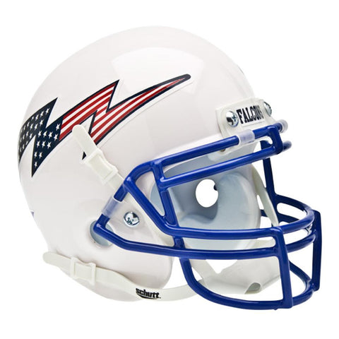 Air Force Falcons NCAA Authentic Mini 1-4 Size Helmet (Alternate White 2)