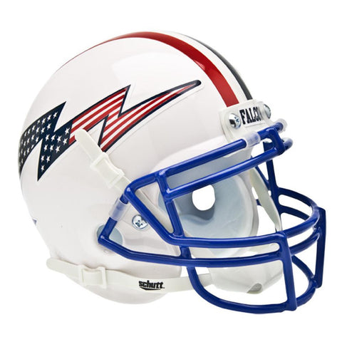 Air Force Falcons NCAA Authentic Mini 1-4 Size Helmet (Alternate White 3)