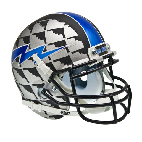 Air Force Falcons NCAA Authentic Mini 1-4 Size Helmet (Alternate B2 Bomber 4)