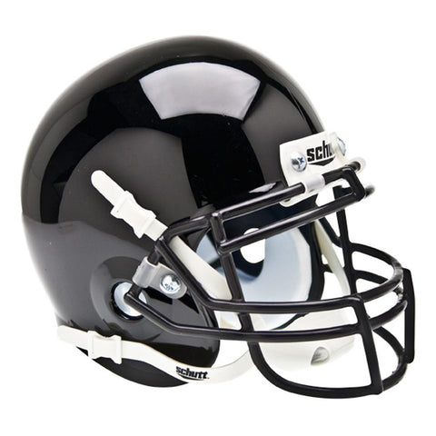 Army Black Knights NCAA Authentic Mini 1-4 Size Helmet (Alternate Black 1)