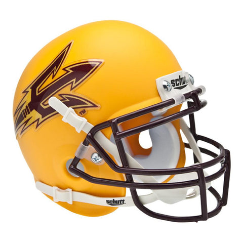 Arizona State Sun Devils NCAA Authentic Mini 1-4 Size Helmet (Alternate Gold 1)