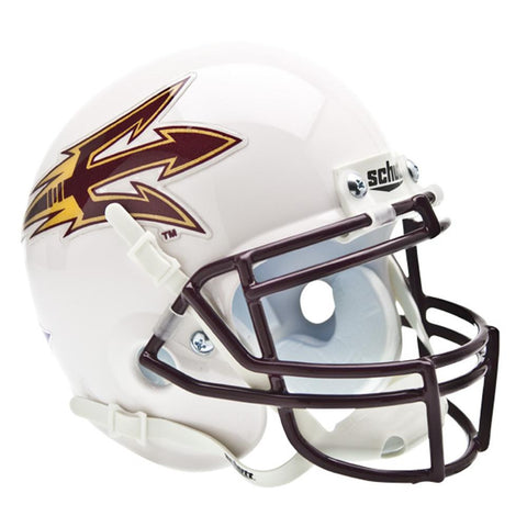 Arizona State Sun Devils NCAA Authentic Mini 1-4 Size Helmet (Alternate White 2)