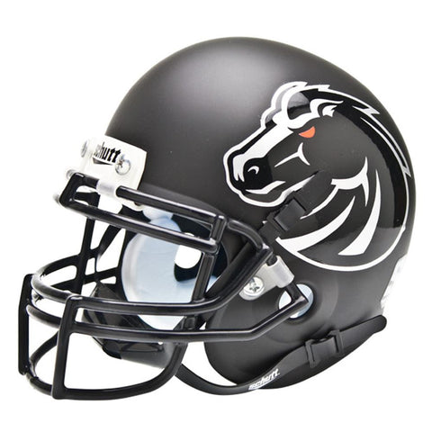 Boise State Broncos NCAA Authentic Mini 1-4 Size Helmet (Alternate Blackout 4)