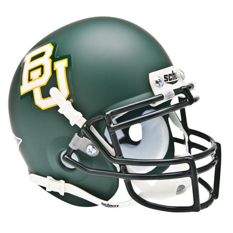 Baylor Bears NCAA Authentic Mini 1-4 Size Helmet (Alternate Green 2)