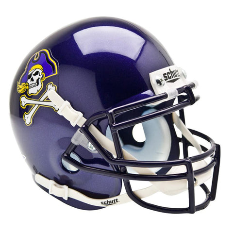 East Carolina Pirates NCAA Authentic Mini 1-4 Size Helmet