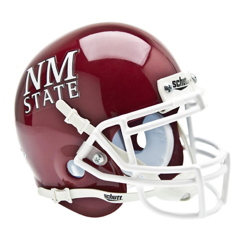 New Mexico State Aggies NCAA Authentic Mini 1-4 Size Helmet