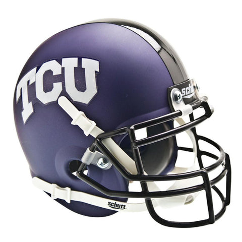 Texas Christian Horned Frogs NCAA Authentic Mini 1-4 Size Helmet (Alternate 1)