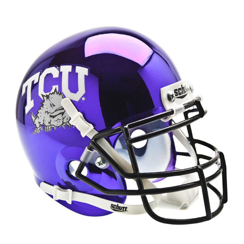 Texas Christian Horned Frogs NCAA Authentic Mini 1-4 Size Helmet (Alternate 5)