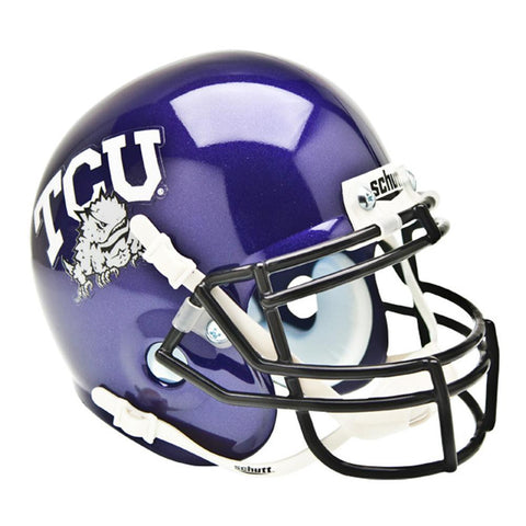 Texas Christian Horned Frogs NCAA Authentic Mini 1-4 Size Helmet
