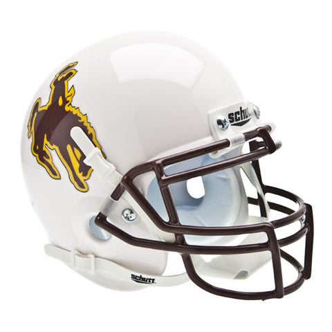 Wyoming Cowboys NCAA Authentic Mini 1-4 Size Helmet
