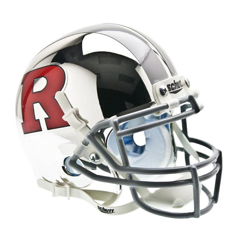 Rutgers Scarlet Knights NCAA Authentic Mini 1-4 Size Helmet (Alternate 4)