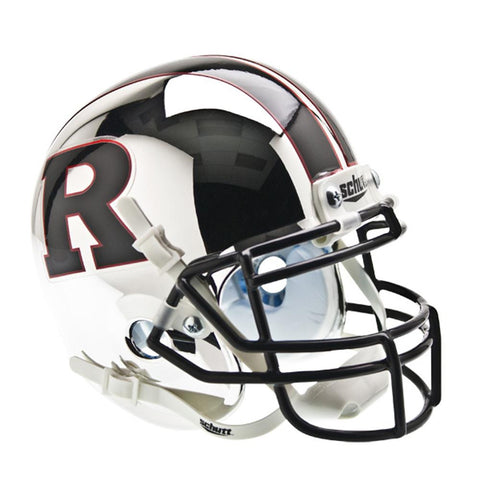 Rutgers Scarlet Knights NCAA Authentic Mini 1-4 Size Helmet (Alternate 5)