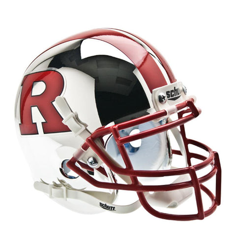 Rutgers Scarlet Knights NCAA Authentic Mini 1-4 Size Helmet (Alternate 6)