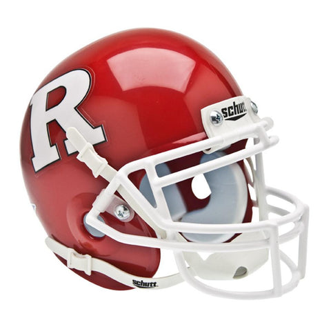 Rutgers Scarlet Knights NCAA Authentic Mini 1-4 Size Helmet