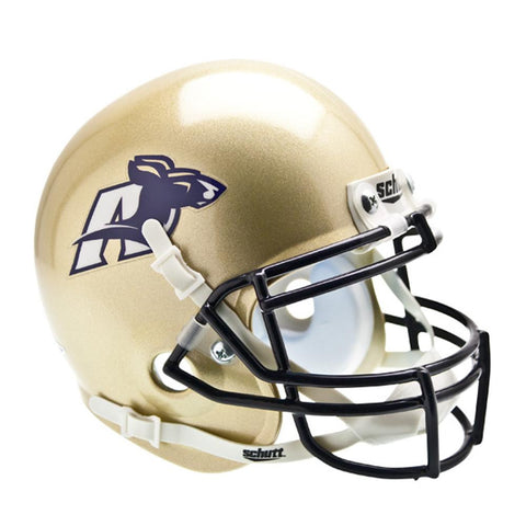 Akron Zips NCAA Authentic Mini 1-4 Size Helmet