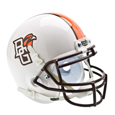 Bowling Green Falcons NCAA Authentic Mini 1-4 Size Helmet (Alternate White 1)