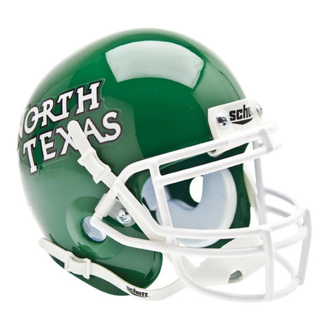 North Texas Mean Green NCAA Authentic Mini 1-4 Size Helmet