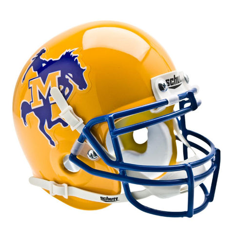 McNeese State Cowboys NCAA Authentic Mini 1-4 Size Helmet
