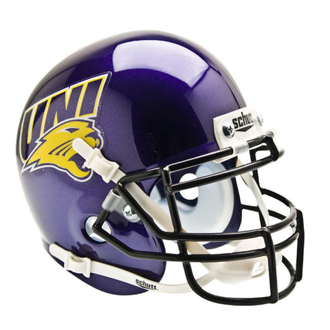 Northern Iowa Panthers NCAA Authentic Mini 1-4 Size Helmet