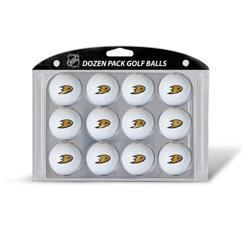 Anaheim Ducks NHL Dozen Ball Pack