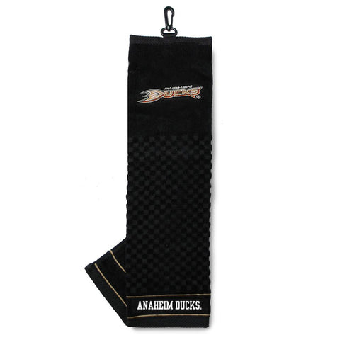 Anaheim Ducks NHL Embroidered Tri-Fold Towel