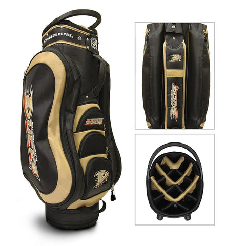 Anaheim Ducks NHL Cart Bag - 14 way Medalist