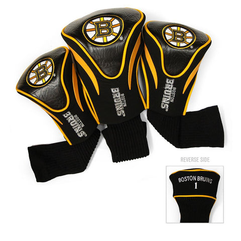 Boston Bruins NHL 3 Pack Contour Fit Headcover