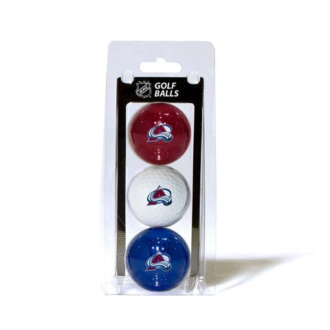 Colorado Avalanche NHL 3 Ball Pack