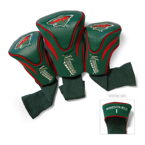 Minnesota Wild NHL 3 Pack Contour Fit Headcover