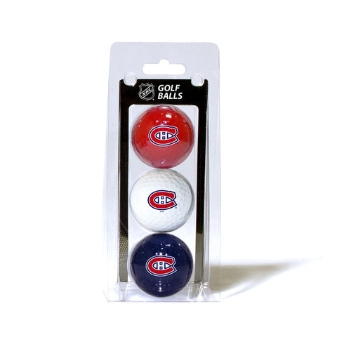 Montreal Canadiens NHL 3 Ball Pack