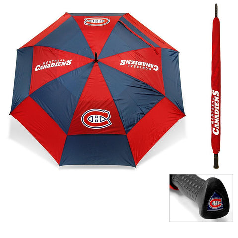 Montreal Canadiens NHL 62 inch Double Canopy Umbrella