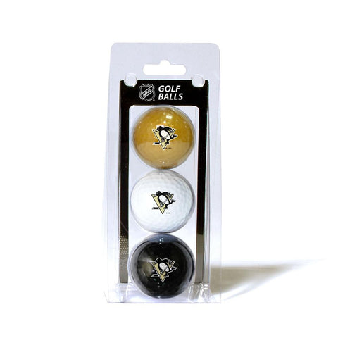 Pittsburgh Penguins NHL 3 Ball Pack