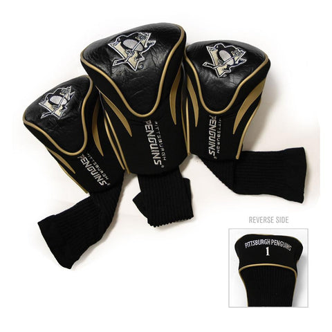Pittsburgh Penguins NHL 3 Pack Contour Fit Headcover