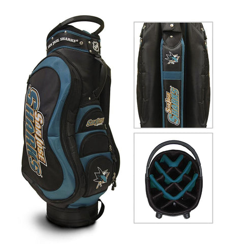 San Jose Sharks NHL Cart Bag - 14 way Medalist