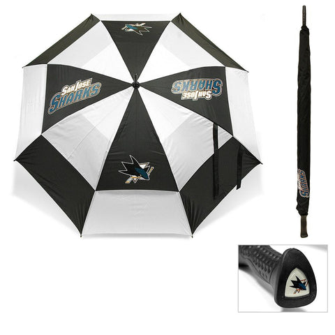 San Jose Sharks NHL 62 inch Double Canopy Umbrella